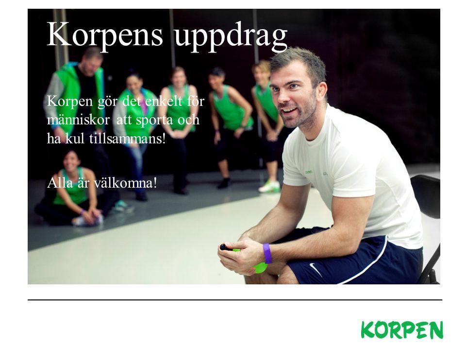 Om Korpen Hur det började Korpen gör det enkelt för människor att sporta och ha kul tillsammans.