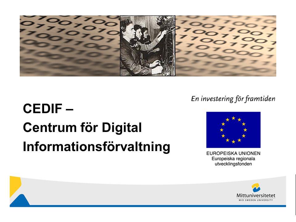 CEDIF – Centrum för Digital Informationsförvaltning