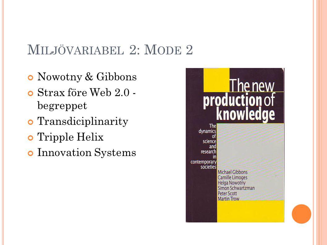 A KADEMISKA A VHANDLINGAR Participation Literacy part I: Constructing the Web 2.0 concept Juni 2006 participationliteracy.co m Avhandling Web 2.0-format Mode 2 Bokformat PDF-format http://participationliteracy.com/