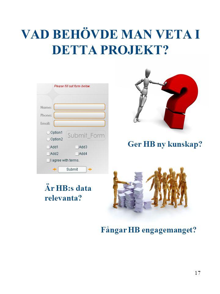 16 Värdet av hälsobokslut för att påvisa Potentialerna i hälsofrämjande arbete HOLM-PROJEKTET