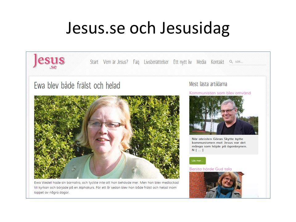 Jesus.se och Jesusidag