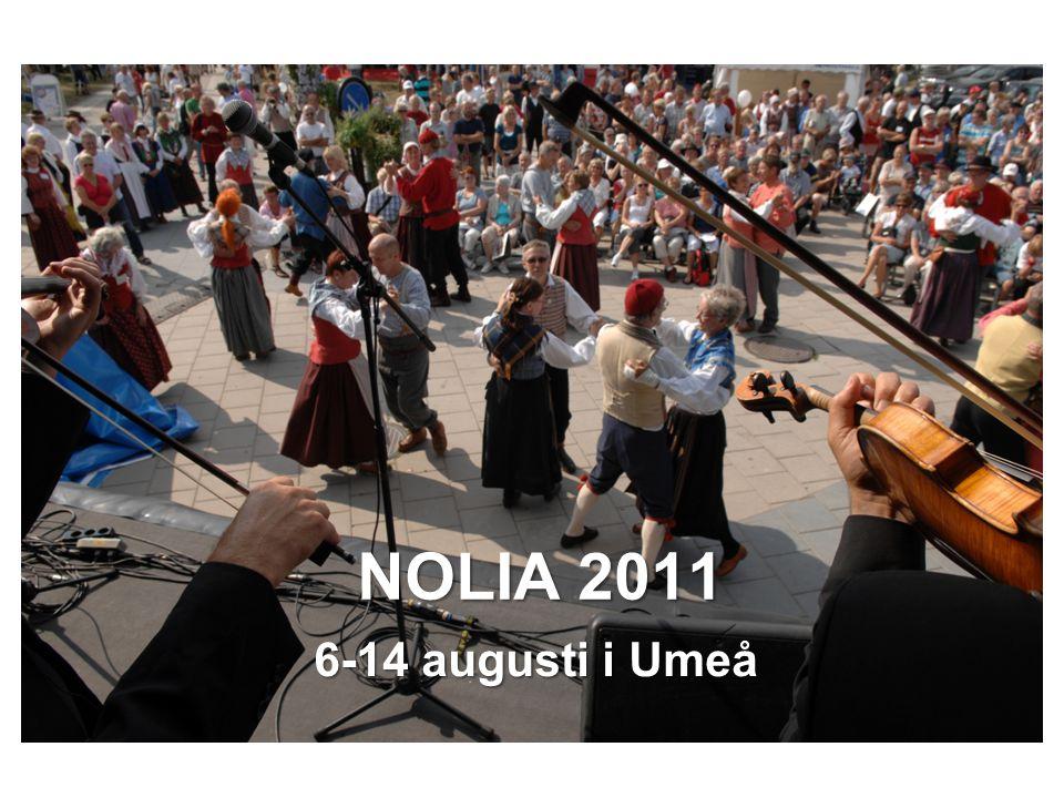 NOLIA 2011 6-14 augusti i Umeå