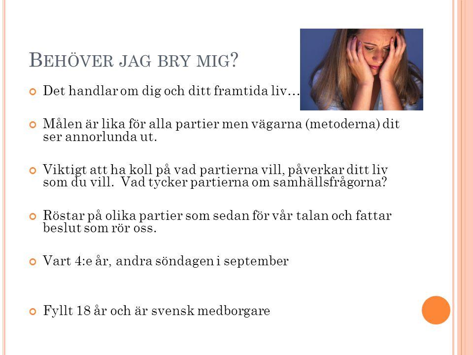 A RBETE ÅT ALLA Svenska företag måste producera varor o tjänster.