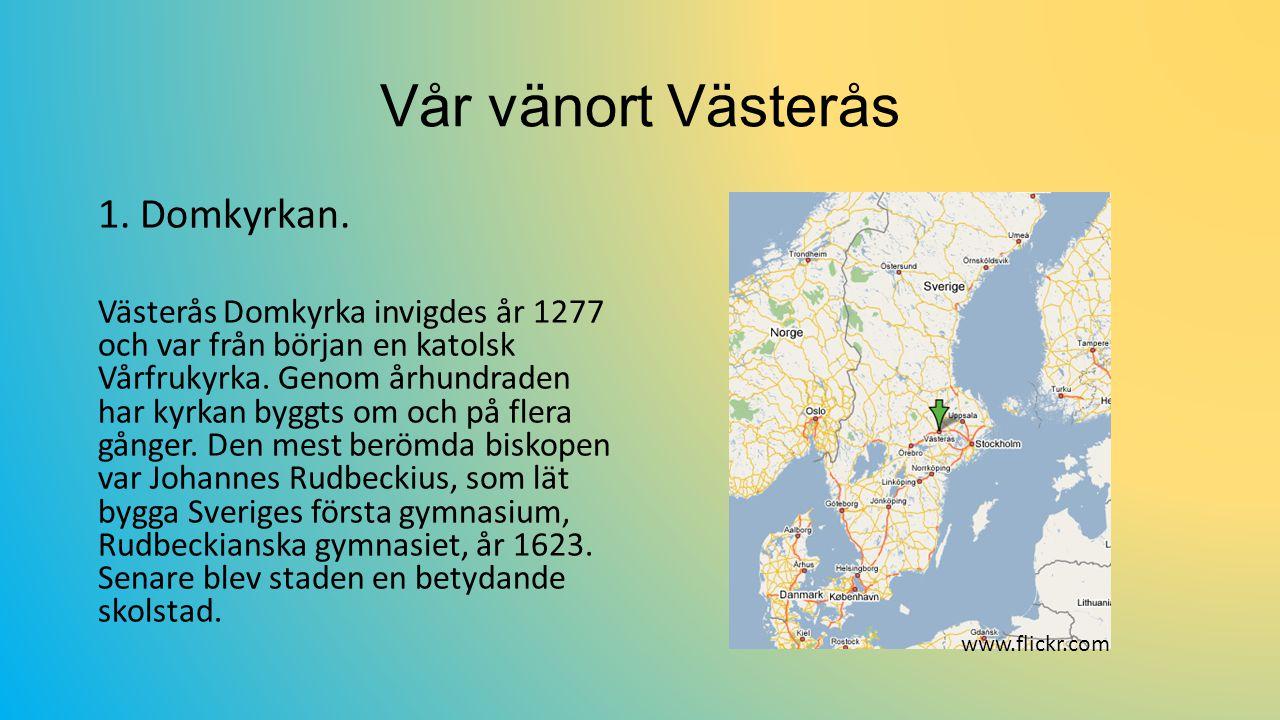 Vår vänort Västerås 1.Domkyrkan.