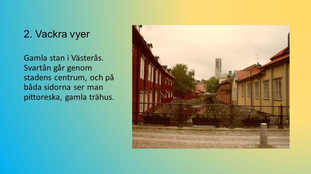 2.Vackra vyer Gamla stan i Västerås.