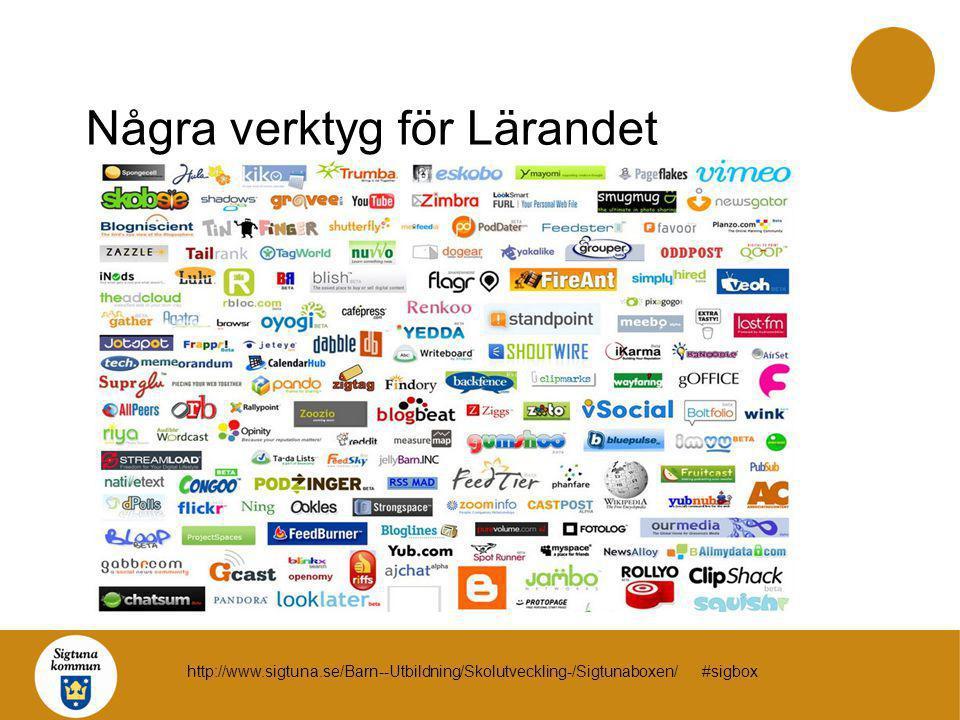 Några verktyg för Lärandet http://www.sigtuna.se/Barn--Utbildning/Skolutveckling-/Sigtunaboxen/ #sigbox