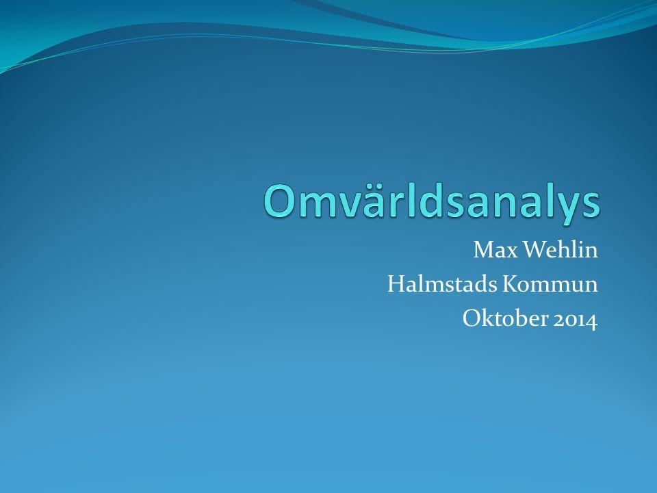 Max Wehlin Halmstads Kommun Oktober 2014