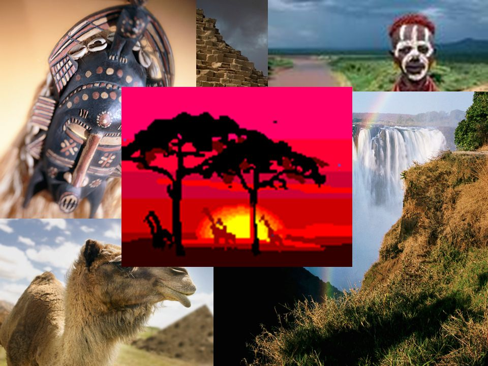 Have you ever watched a documentary of Africa?