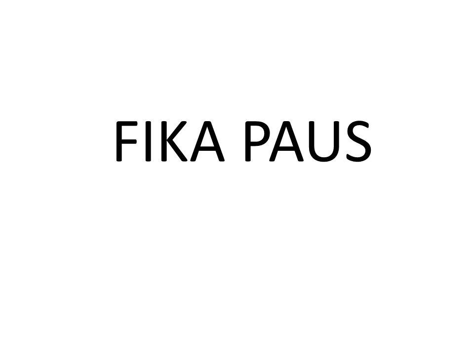 FIKA PAUS