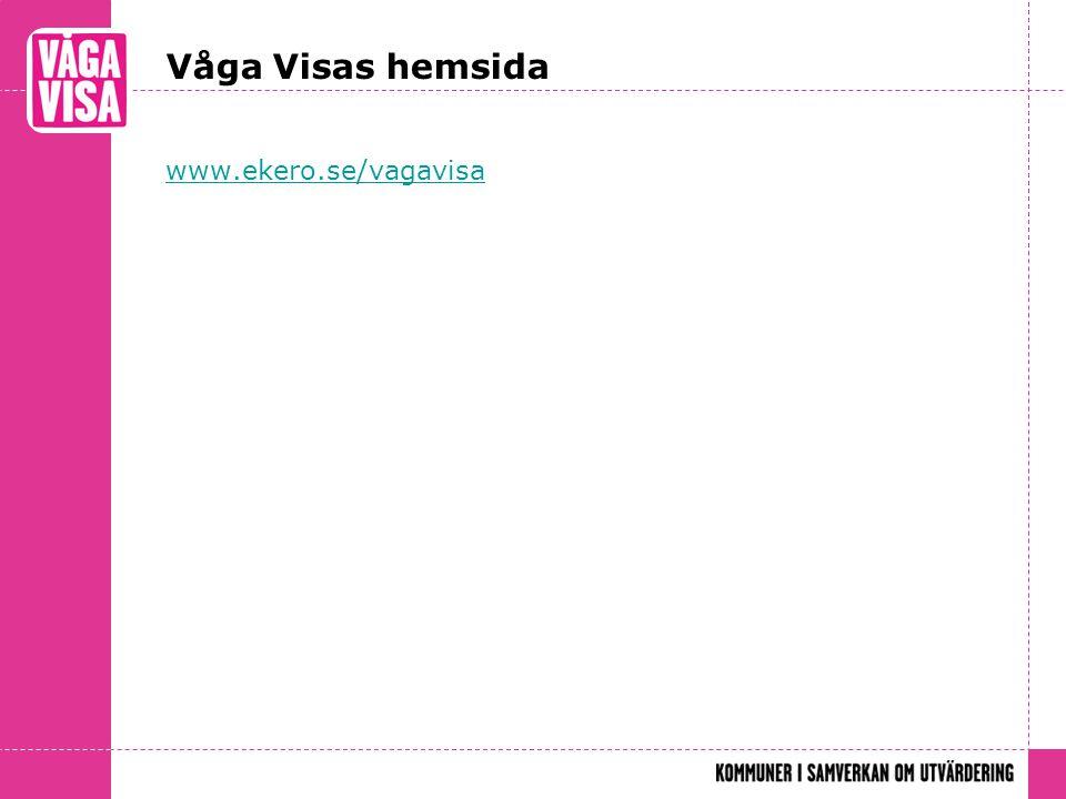 Våga Visas hemsida www.ekero.se/vagavisa