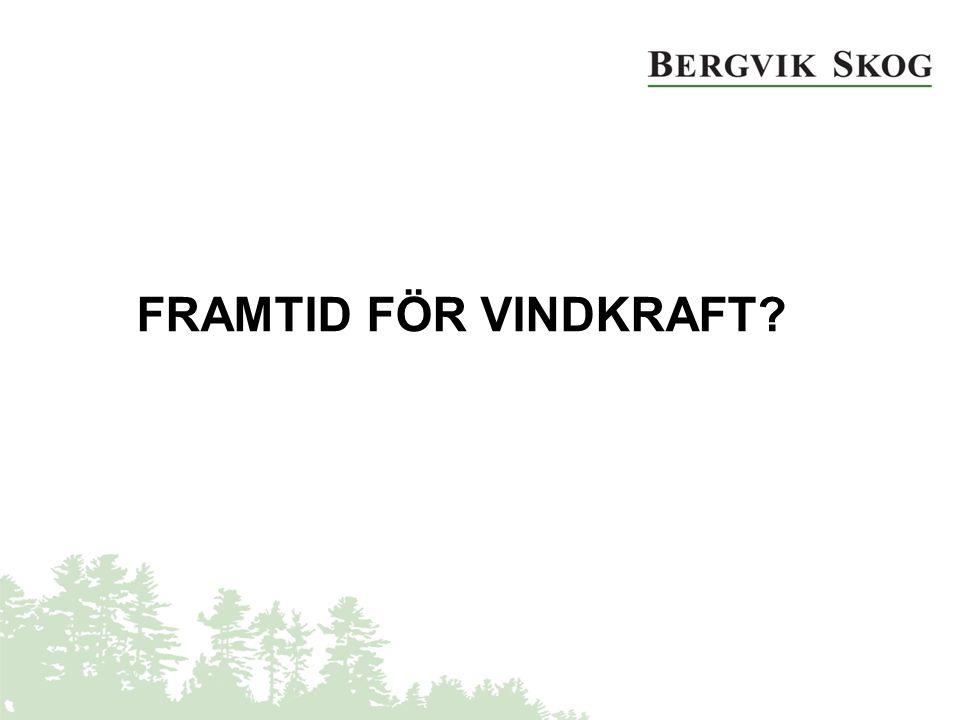 FRAMTID FÖR VINDKRAFT?