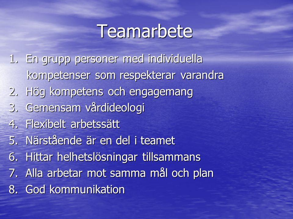 Teamarbete 1.