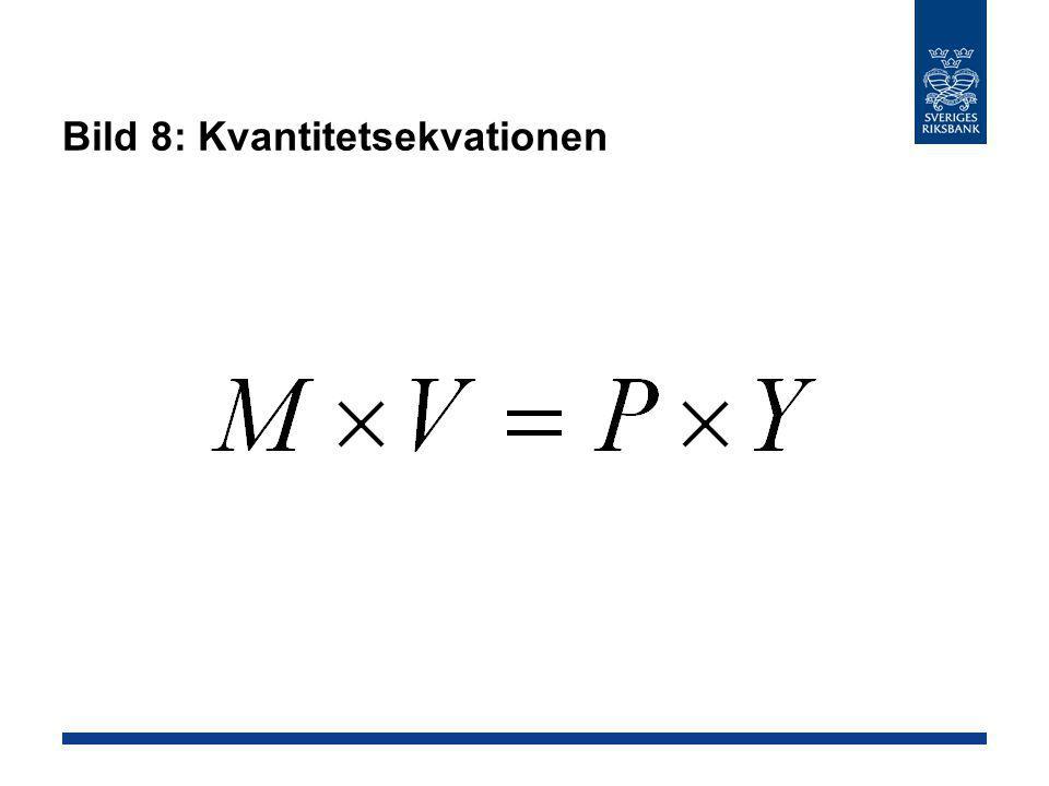 Bild 8: Kvantitetsekvationen