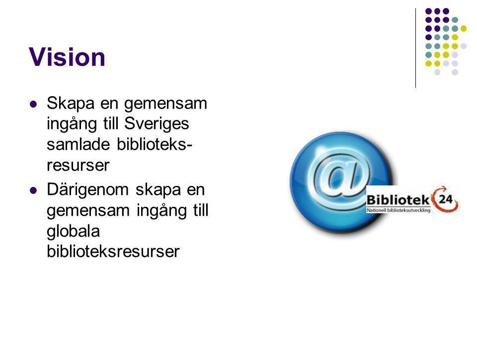Nationell strategi Fortsätta bygga en samarbetsstruktur folk- och forskningsbibliotek Ta tillvara erfarenheter från det som redan gjorts och görs Definiera aktörer/ Open source, vem/vilka äger och driver frågan i Sverige idag?