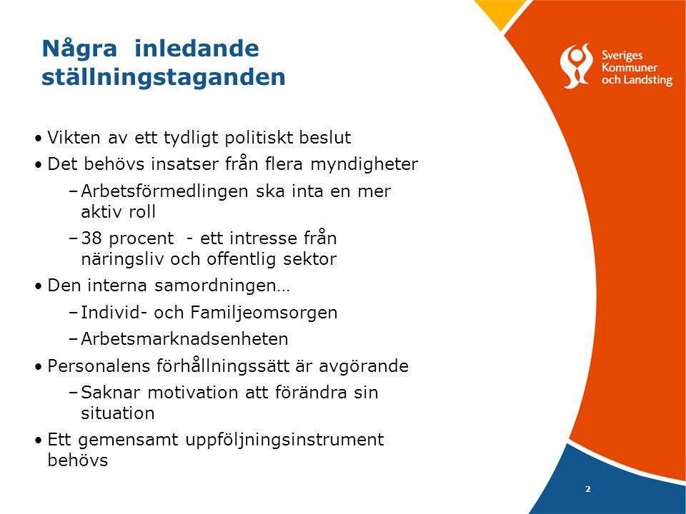 3 Varför en förändring? FK Af K Framförallt för de enskilda… Kommunen Svarte Petter… AME L Af