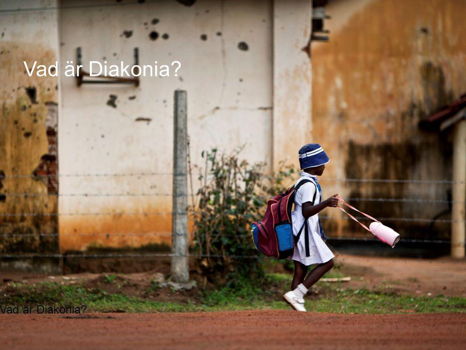 © Diakonia 3 Diakonia är en kristen biståndsorganisation som tillsammans med lokala partner arbetar för en varaktig förändring för de mest utsatta människorna i världen.