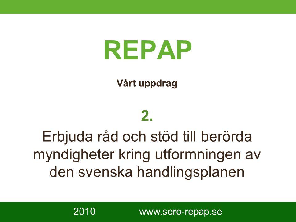 3 REPAP Vårt uppdrag 2.