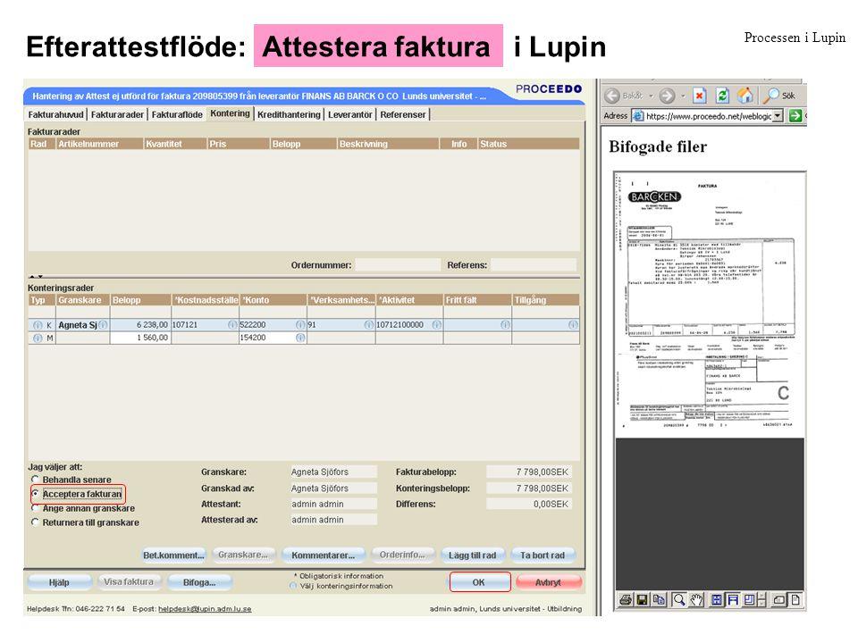 Processen i Lupin …eller direkt via e-post