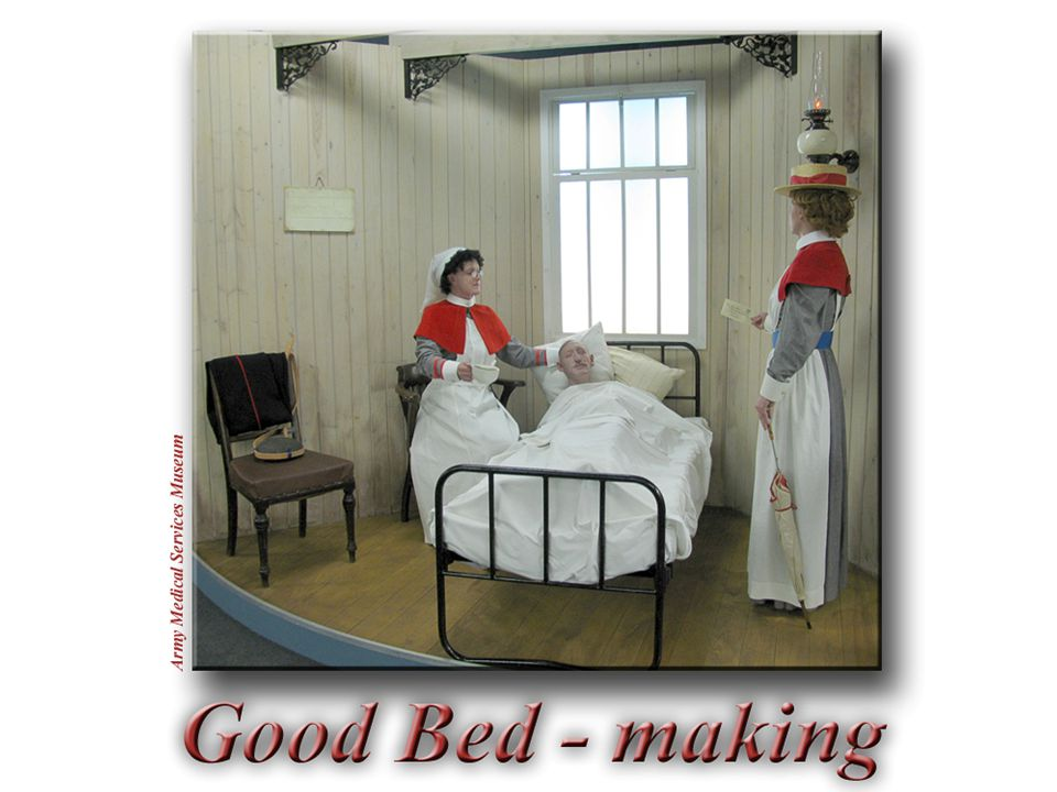 Katarina Nordstedt, Institutionen för Hälsovetenskap, 2007 K Good Bed - making