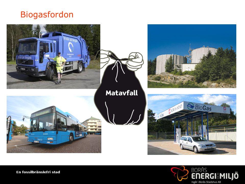 En fossilbränslefri stad Biogasfordon