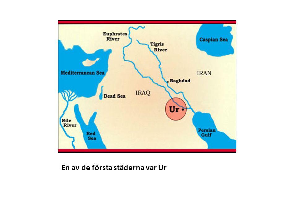 Ur låg vid floderna Eufrat och Tigris