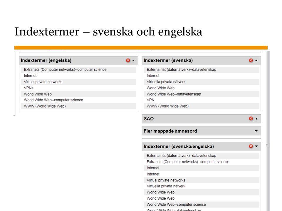 Sidnummer 2014-09-25 34 Svenska ämnesord 839.738 Svenska romaner och noveller—2000–,