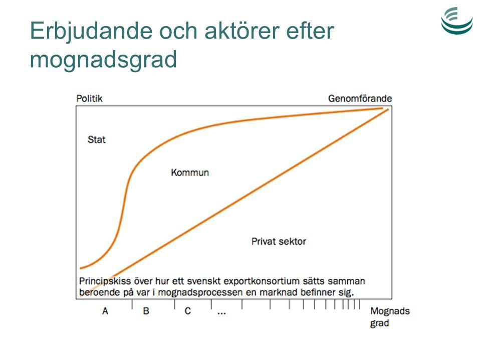 Projekt 2012-2014 Nätverk med offentliga och privata aktörer i svensk avfallshantering med intresse för export och internationella uppdrag Projekt- ledare + kansli Arbetsgrupp