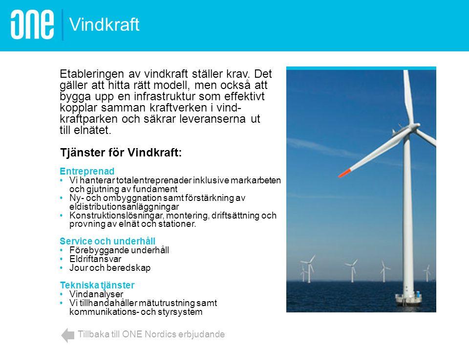 Etableringen av vindkraft ställer krav. Det gäller att hitta rätt modell, men också att bygga upp en infrastruktur som effektivt kopplar samman kraftv