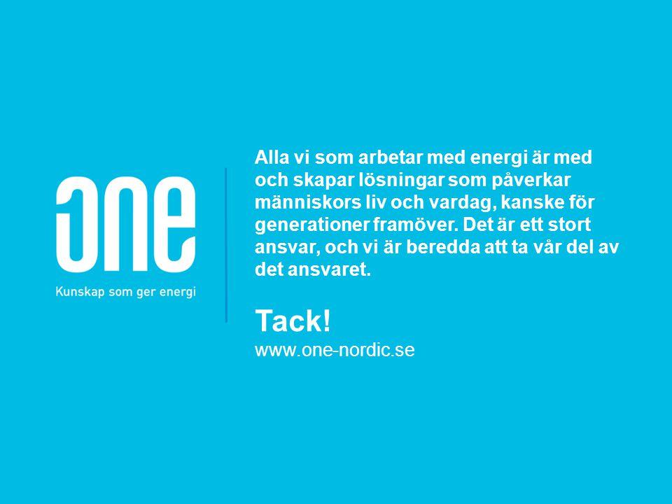 Alla vi som arbetar med energi är med och skapar lösningar som påverkar människors liv och vardag, kanske för generationer framöver. Det är ett stort