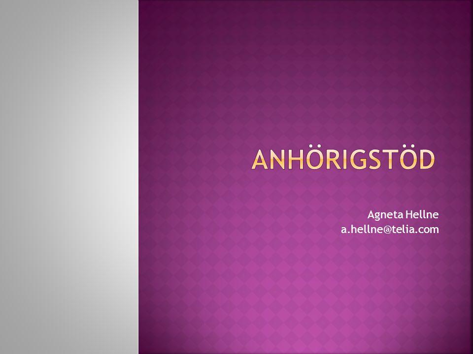 Agneta Hellne a.hellne@telia.com