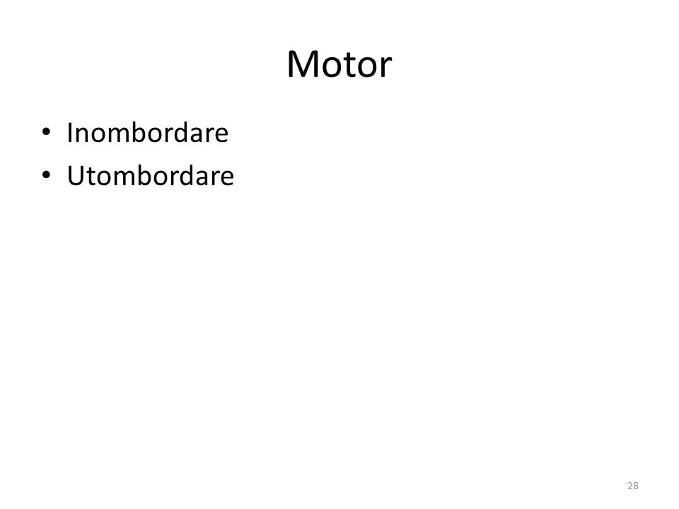 Motor Inombordare Utombordare 28