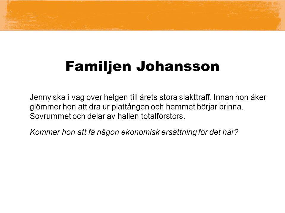 Familjen Johansson Jenny ska i väg över helgen till årets stora släktträff.