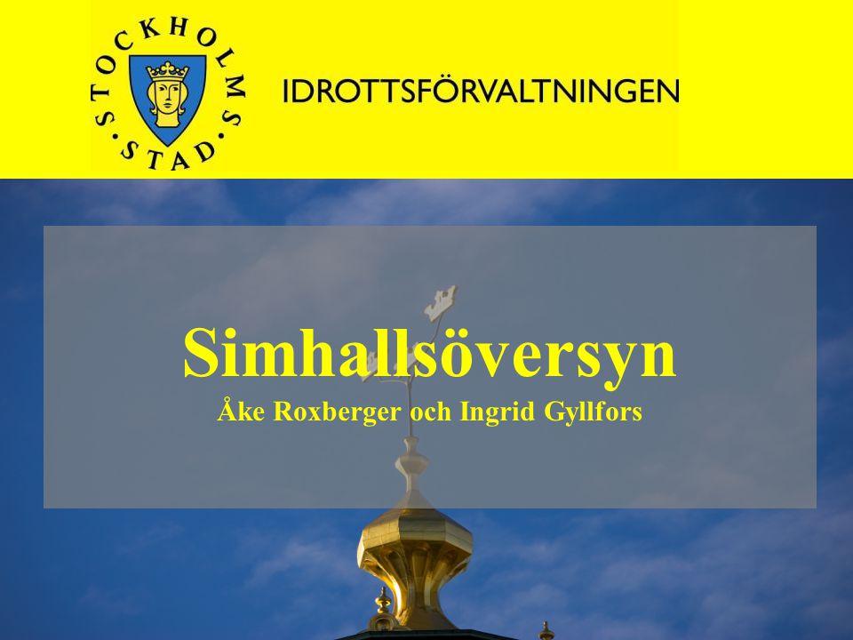 Simhallsöversyn Åke Roxberger och Ingrid Gyllfors