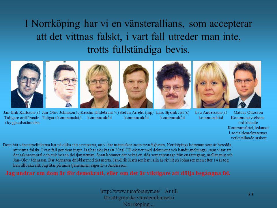 Ansvarig högsta tjänsteman, var fram till början av 2008 Björn Johansson. Ny kommundirektör är Åsa Byman Falck,och hon behöver lite tid för att bli va