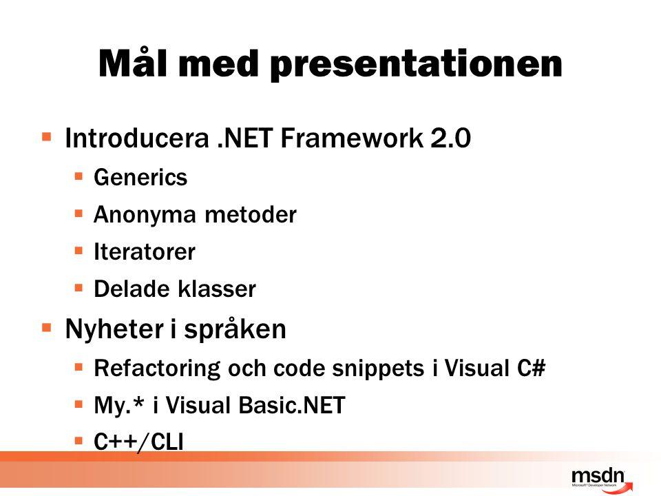 demo Iteratorer