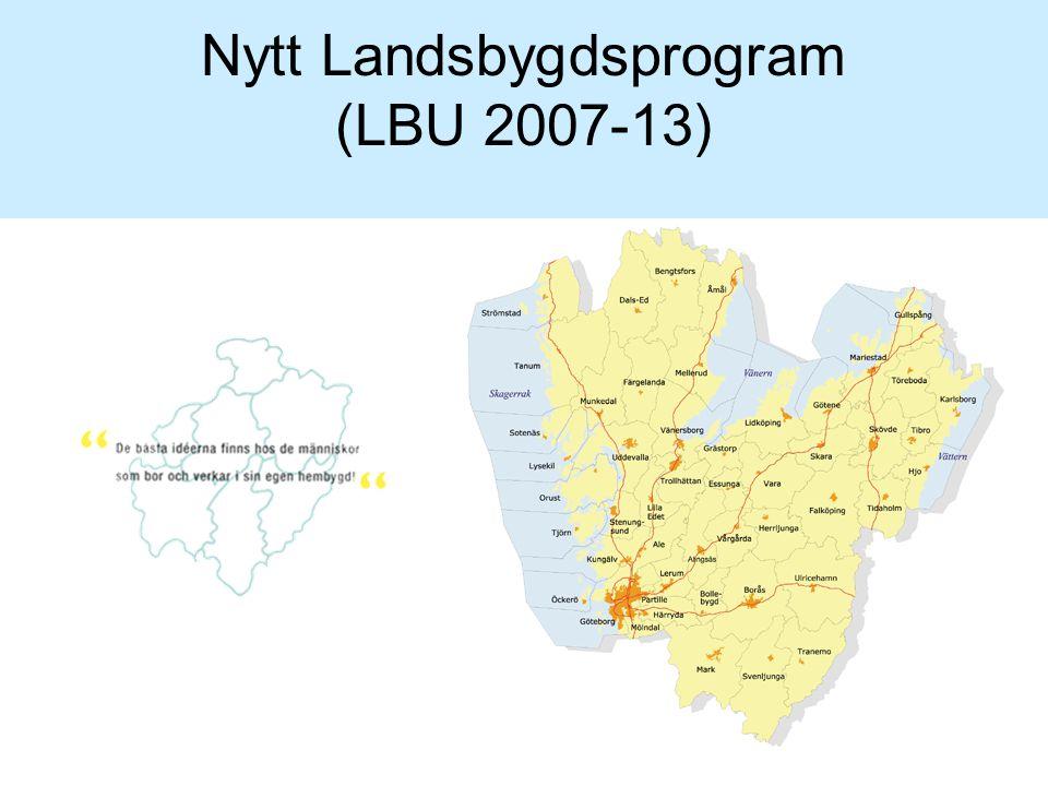 Nytt Landsbygdsprogram (LBU 2007-13)