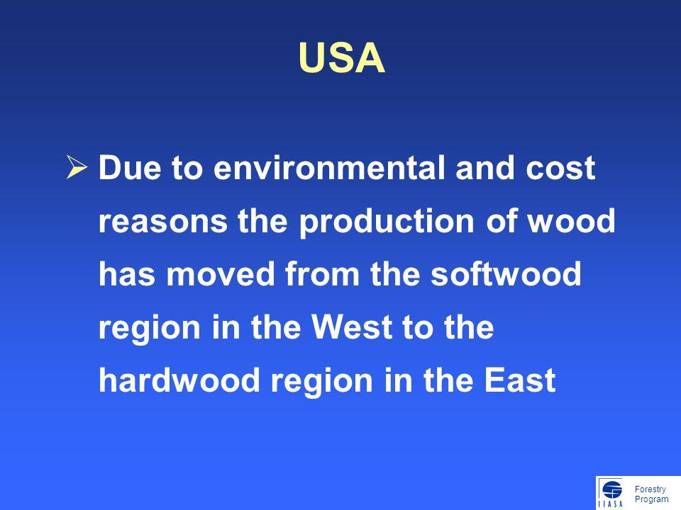 Forestry Program Lohmanders observation 080429: Inte ens den extremt låga allowable cut avverkas alltså på långa vägar.