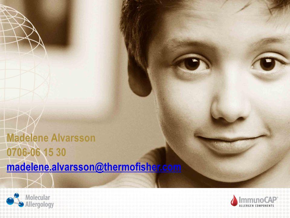 Madelene Alvarsson 0706-06 15 30 madelene.alvarsson@thermofisher.com madelene.alvarsson@thermofisher.com