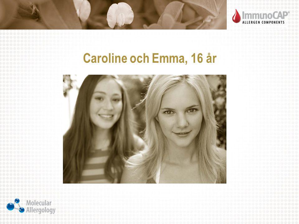 Caroline och Emma, 16 år