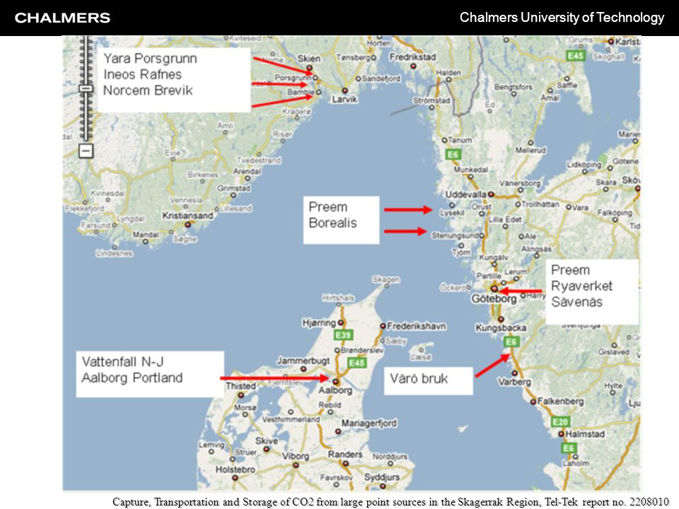 Chalmers University of Technology Process
