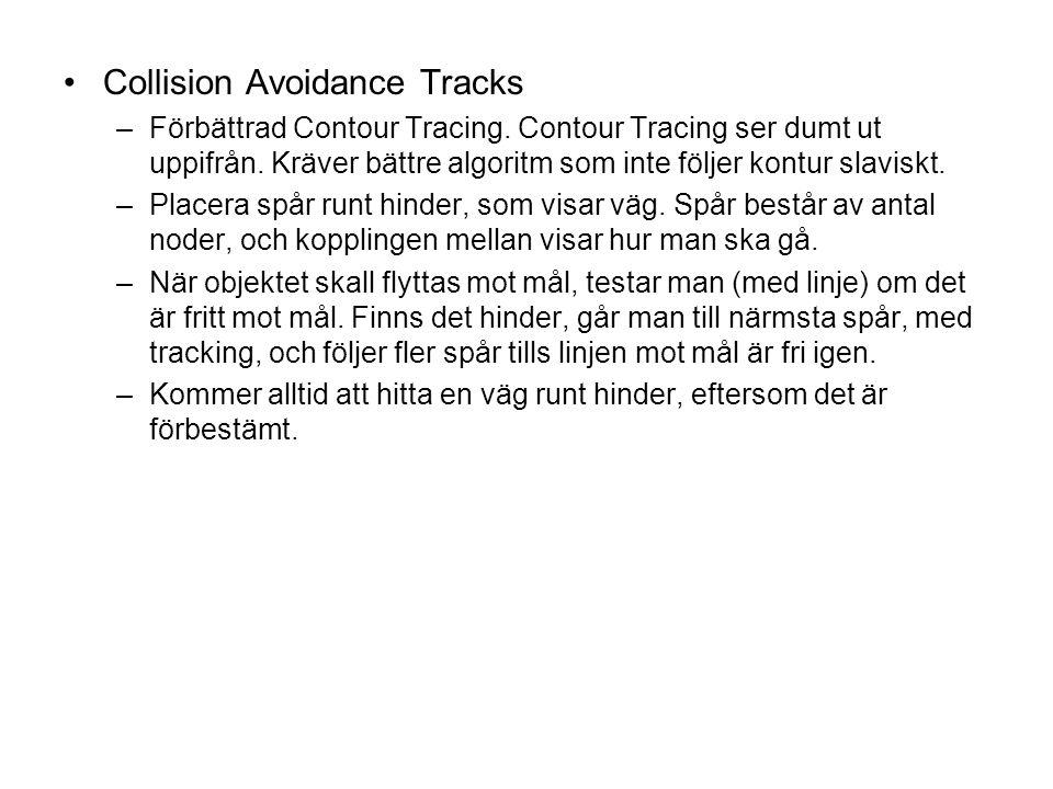 Collision Avoidance Tracks –Förbättrad Contour Tracing.