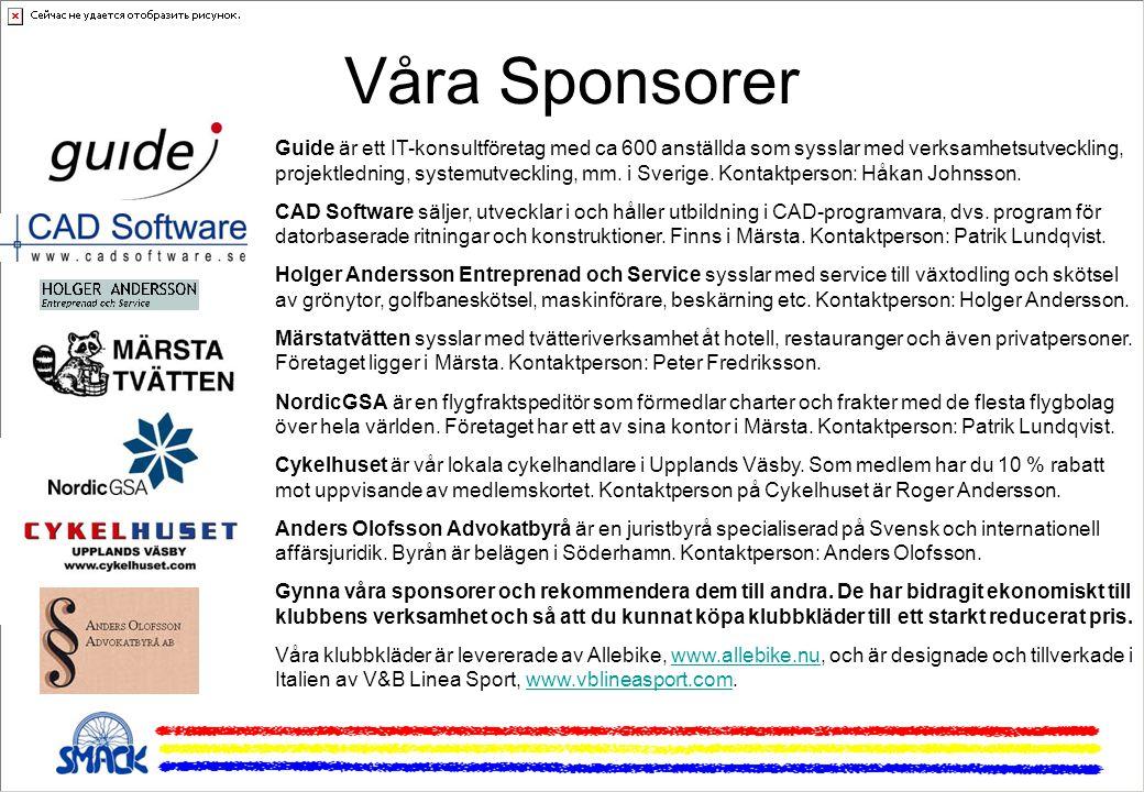 Våra Sponsorer Guide är ett IT-konsultföretag med ca 600 anställda som sysslar med verksamhetsutveckling, projektledning, systemutveckling, mm.