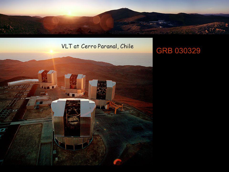 GRB 030329 VLT at Cerro Paranal, Chile
