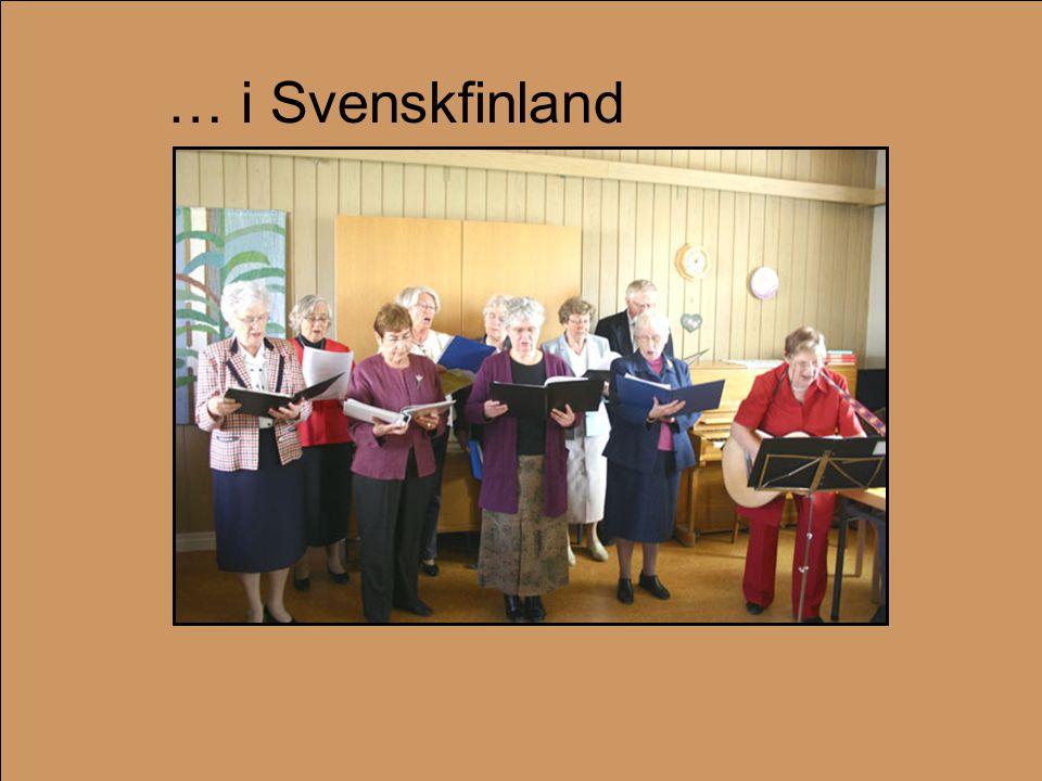 … i Svenskfinland