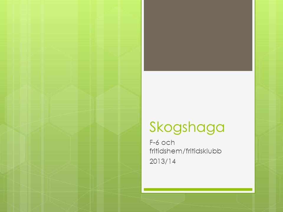 Skogshaga F-6 och fritidshem/fritidsklubb 2013/14