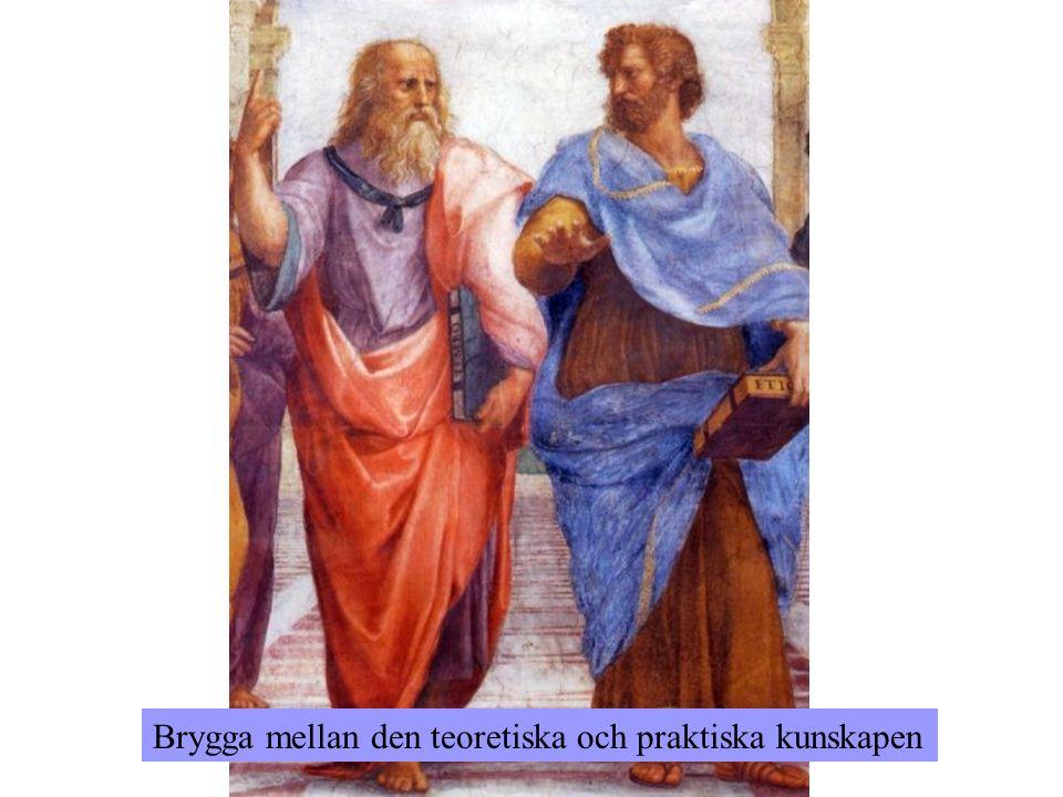 Brygga mellan den teoretiska och praktiska kunskapen