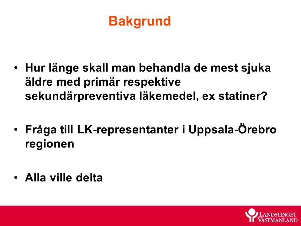 Patientfall 3 Information som ges under/efter disk: MMSE 20/30 poäng, Ortostatiskt prov: ua Bltr 150/80 efter borttagande av Amlodipin Blodsockerkurva bra efter byte av Glibenklamid till Glimeperid