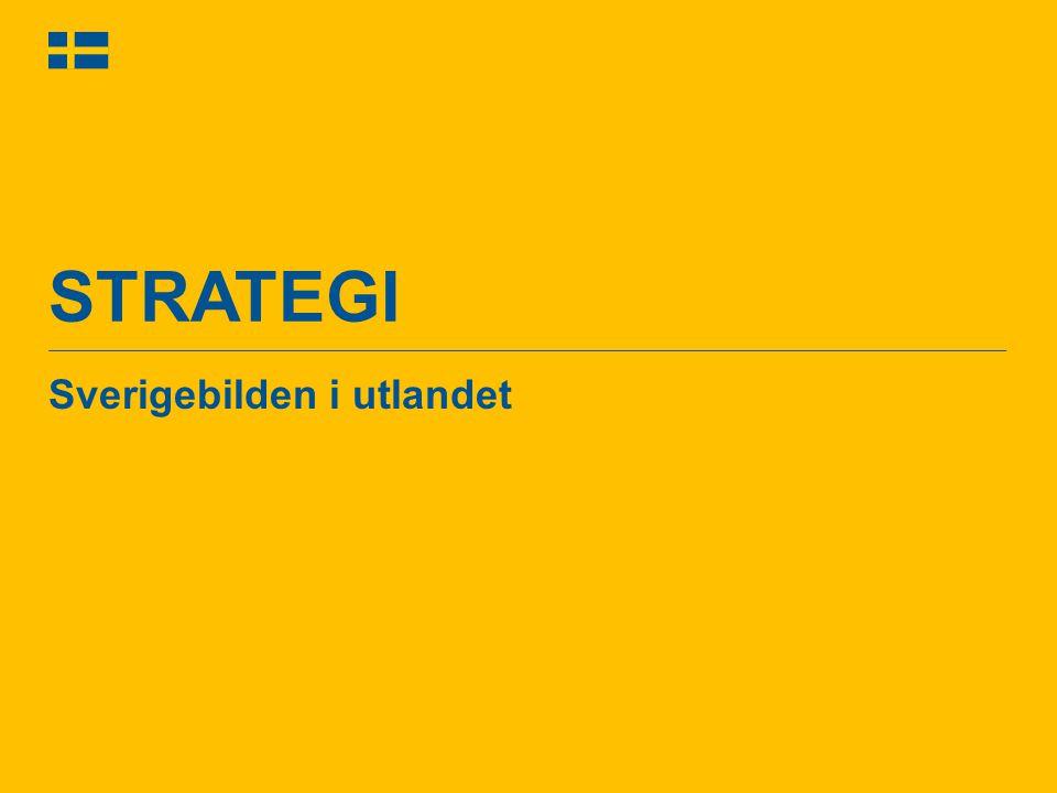 STRATEGI Sverigebilden i utlandet