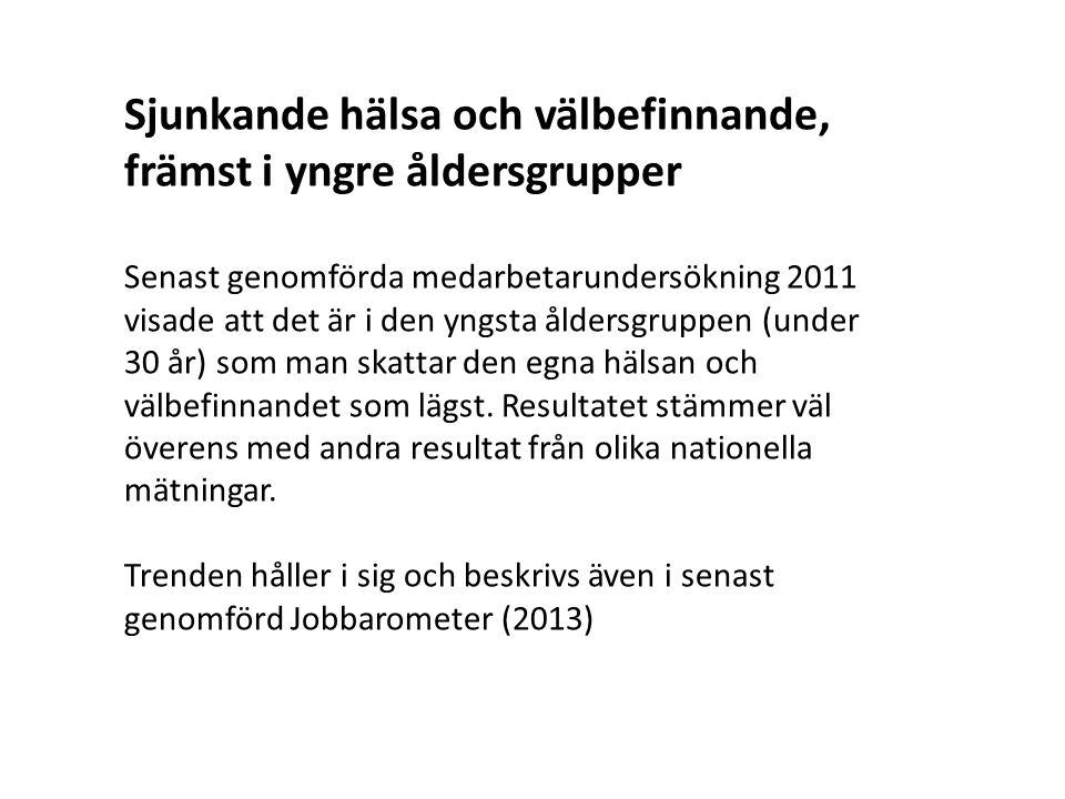Allt fler medarbetare arbetar kvar efter fyllda 65 år Tendens att allt fler inom Umeå universitet väljer att stanna kvar i anställning efter fyllda 65 år vilket ställer delvis nya krav på oss som arbetsgivare inte minst vad gäller förebyggande insatser, strategier för kompetensväxling och hållbarhet.