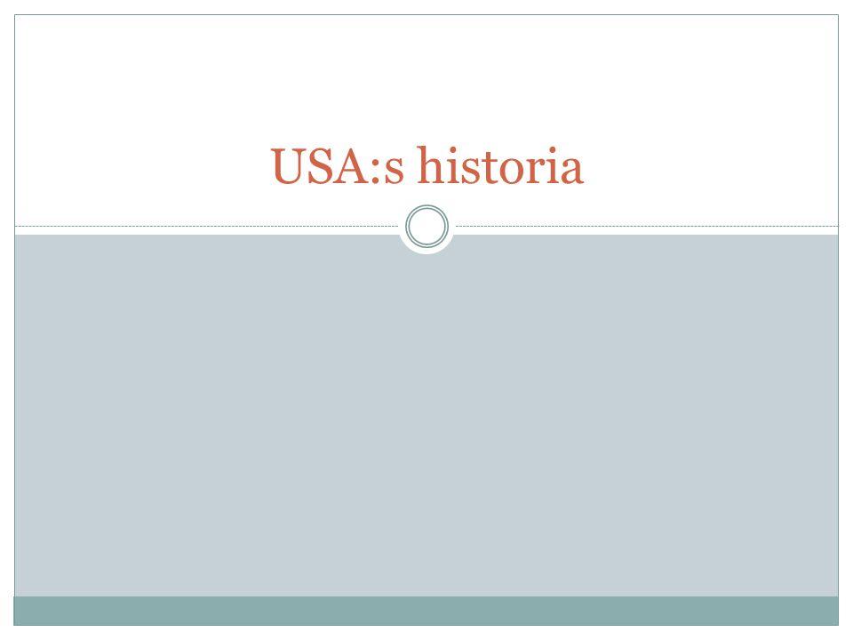 USA:s historia